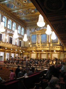 Vienna New Year's Concert at the Musikverein